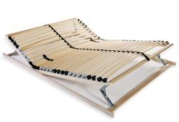 vidaXL Stelaż do łóżka z 28 listwami, drewno FSC, 7 stref, 120x200 cm 246459