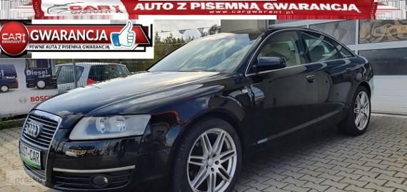 Audi A6 III (C6) 2.4 177KM nawigacja jasny środek alufelgi gwarancj
