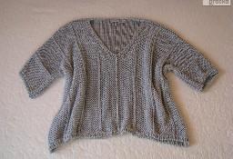Luźny sweterek, sweter narzutka, oversize nietoperz, rozm. S, M, L