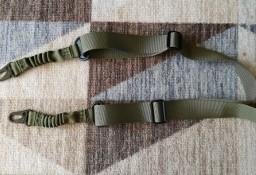 Sling zielony pas nośny dwupunktowy zawieszenie do broni bungee