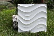 Wodoodporny, ścienny panel 3d - Tarantella (produkcja)