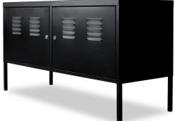 vidaXL Szafka pod telewizor, 118 x 40 x 60 cm, czarna244721