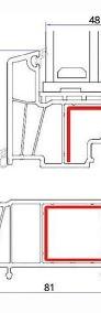 OKNA okno PCV ALUPLAST dwustronny kolor 1465x1435 WYCENA GRATIS!-3