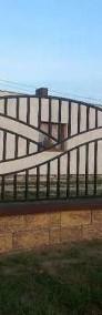 Przęsło ogrodzeniowe, nowoczesny design, panel ogrodzeniowy D-09-3