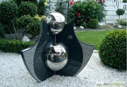 "Fontanna "" 2 Kule w objęciach "" granit ze stalą. PROMOCJA!"