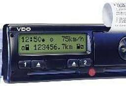 TACHOGRAF SIEMENS DTCO 1381 Citroen Jumper