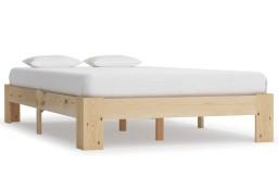 vidaXL Rama łóżka, lite drewno sosnowe, 140 x 200 cm 283283