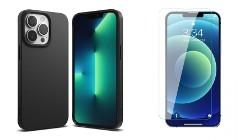Etui Ringke Air S + Szkło Płaskie do iPhone 13 Pro