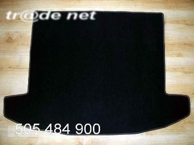 KIA CARENS IV gen. od 04.2013 r. wersja 5 osobowa najwyższej jakości bagażnikowa mata samochodowa z grubego weluru z gumą od spodu, dedykowana Kia Carens-1