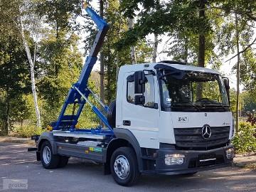 Mercedes-Benz ATEGO 1221 HAKOWIEC 4x2 KLIMA HAKOWIEC DO KONTENERÓW MANUAL