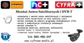 Montaż Anten POBIEDZISKA, JERZYKOWO, Biskupice TEL: 500-450-247