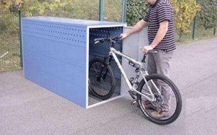 garaże dla rowerów, skuterów, hulajnog