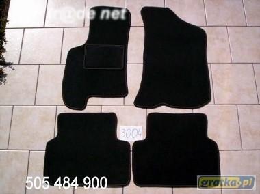 Daewoo Nexia 1995-1998 najwyższej jakości dywaniki samochodowe z grubego weluru z gumą od spodu, dedykowane Daewoo Nexia-1