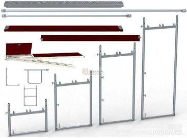 RUSZTOWANIA stalowe, aluminiowe - Rusztowanie Każdego Typu - Sprzedaż