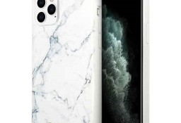 Oryginalne etui Guess do iPhone 11 Pro biały/ white Marble