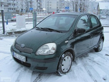Toyota Yaris I 1,0 benzyna- 5 drzwi-SERVIS-TOYOTA-salon POLSKA.