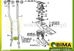 Wybierak lewarka biegów używany części do traktorów Renault 103-14,