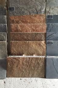 Miedziany łupek na elewację / kamień elewacyjny / ozdobny kamień na ścianę-3