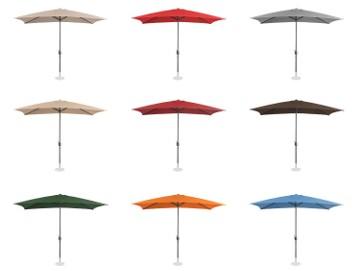 Parasol ogrodowy stojący 9 kolorów 200x300cm