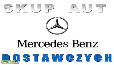 Mercedes-Benz Sprinter SKUP AUT DOSTAWCZYCH
