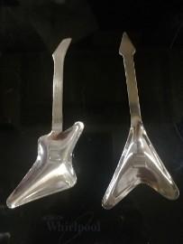 Łyżeczka Gitara gitary gitarzysty Rockstirs Mustard