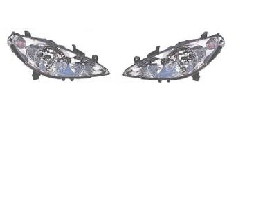 PEUGEOT 307 01-05 H7+H1+H1 PRAWA LUB LEWA LAMPA REFLEKTOR NOWY DEPO Peugeot 307-1