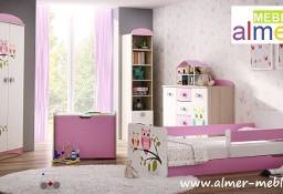 bajkowe meble dla dzieci SOWY z łóżkiem z grafiką - WYSYŁKA GRATIS