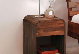 vidaXL Stolik nocny z drewna akacjowego, 41,5 x 42 x 52 cm 245483