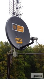 NIEPOŁOMICE Montaż Serwis Anten Satelitarnych NC+, Polsat oraz DVBT
