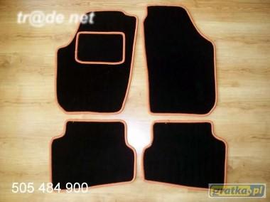 SEAT IBIZA od 2008 do 2017 r. najwyższej jakości dywaniki samochodowe z grubego weluru z gumą od spodu, dedykowane SEAT Ibiza-1