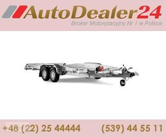AutoDealer24.pl [NOWA FV Dowóz CAŁA EUROPA 7/24/365] 400 x 192 cm Brenderup AUTO 2513 GT
