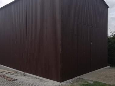 Garaże blaszane, wiaty, hale, konstrukcje stalowe, kojce.-1
