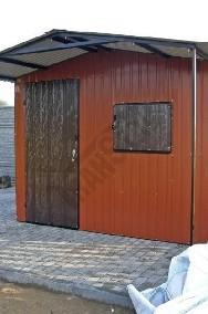 Garaże blaszane, wiaty, hale, konstrukcje stalowe, kojce.-2