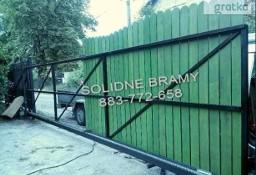 Brama przesuwna wjazdowa Konstrukcja do wypełnienia /montaż naprawy