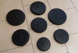Daszki na słupki drewniane okrągłe o śr.10 do 19 cm czarne