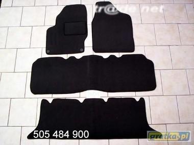 Seat Alhambra I od 1995 do 2010 r. 3 rzędy siedzeń najwyższej jakości dywaniki samochodowe z grubego weluru z gumą od spodu, dedykowane SEAT Alhambra-1