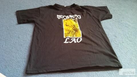 koszulka dziewczęca L czarna