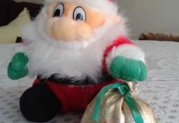Mikołaj - maskotka , zabawka , ozdoba na choinkę/pod choinkę.