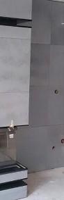NOWOCZESNE KOMINKI - Obudowy kominkowe z betonu architektonicznego. Płyty betonowe na kominek.-3