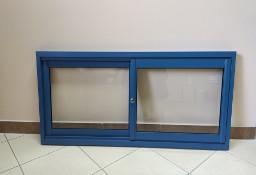 Okno przesuwne w bok podawcze do baru przyczepy kontenera lokalu obsługi klienta