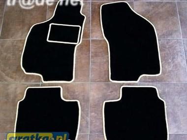 Fiat Brava 1995-2001 najwyższej jakości dywaniki samochodowe z grubego weluru z gumą od spodu, dedykowane Fiat Brava-1