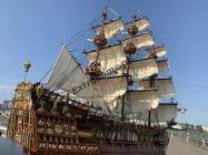 Drewniana Replika statku żaglowca Sovereign Of the Seas 75cm