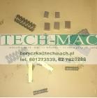 Szczotkotrzymacz jednoramienny gilotyny NTE,NTC * TECH-MACH