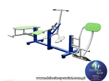 Ławka podciąg prostownik siłownia zewnętrzna atest-1