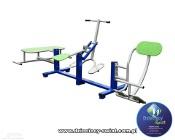 Ławka podciąg prostownik siłownia zewnętrzna atest