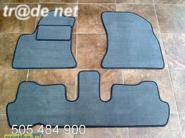 Citroen C4 Picasso od 2006r. najwyższej jakości dywaniki samochodowe z grubego weluru z gumą od spodu, dedykowane Citroen C4-1