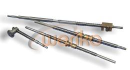Śruba posuwu poprzecznego z nakrętką tokarki TUG40 części zamienne *WERIKO* 603-860-550