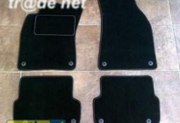 AUDI A6 C6 sedan od 2006 do 2011 r. najwyższej jakości dywaniki samochodowe z grubego weluru z gumą od spodu, dedykowane Audi A6