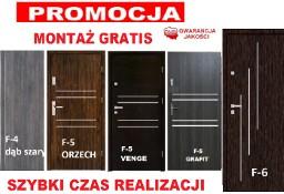 Drzwi z montażem wejściowe -zewnętrzne do mieszkania w bloku-wewnątrzklatkowe