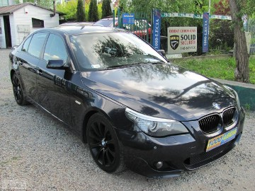 BMW SERIA 5 520d- M-PAKIET-LIFT-DOINWESTOWANY-ORYGINAŁ-PRYWAT-